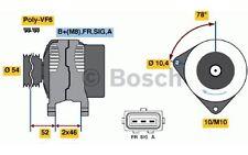 BOSCH Alternador FORD FOCUS FIESTA KUGA C-MAX VOLVO S40 MAZDA 3 0 986 049 171