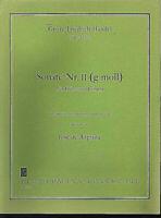 """Händel - """" Sonate Nr. II ( g-moll ) """" für Flöte und Gitarre ~ Jose de Azpiazu"""