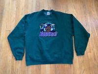 Vintage 90's Minnesota Moose Embroidered Crewneck Mens XL EUC Rare NHL