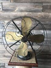 Vintage General Electric Brass Blade Fan