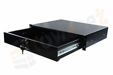 "Rack Drawer - 19"" 2U Rack-Mounted Drawer Unit 48 W x 36  D x 8,8 H cm"