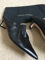 SIGERSON MORRISON Black Leather Marie Mules US 8.5 UK 6 EU 39