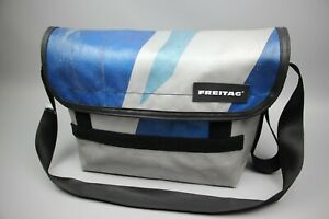 FREITAG  Messenger bag Silver,Blue FREITAG - F42 SURFSIDE 6 Size Large