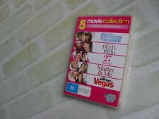 500 days of summer/marley & me/what happens in vegas/27 dresses- 5 disc dvd