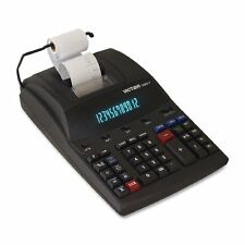Victor 12 Digit Heavy Duty Commercial Printing Calculator w/ Wireless Data Relay