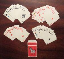Edu Cards mini playing cards zebra original box vintage