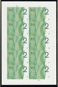 2012 Waves $2 denomination Sc 4718 MNH full sheet of 10