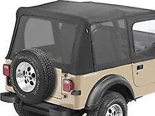 Black Denim Mesh Window Kit for Bestop Replace-a-Tops 97-02 Jeep TJ BES-58821-15