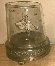 "VINTAGE MUSICAL DANCING BALLERINA ""BLUE DANUBE"" CIRCA 1950'S"
