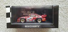@RARE@ Porsche 911 #78 GT2 CLASS WINNER 1997 24 Hrs of Le Mans 1/43 Minichamps