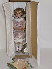 Georgetown Collection Jessica By Pamela Phillips Doll on Swing MIB