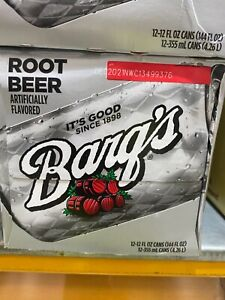 Barq's Root Beer 355 ml x 12 cans USA imported