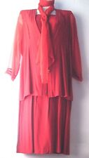 X-Land by Dolce Women's Red Skirt Suit Size XL