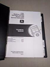 John Deere 410E Backhoe Loader Operation Test Shop Service Repair Manual TM1610