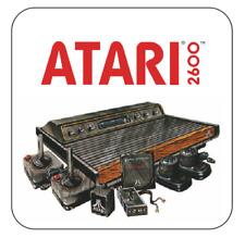 Atari 2600 Coaster atari woody mug coaster Cartridge