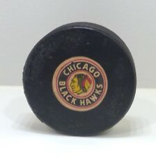 Vintage Chicago Blackhawks Official NHL Hockey Puck