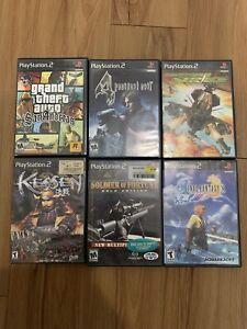 Ps2 Games Lot Of Six GTA