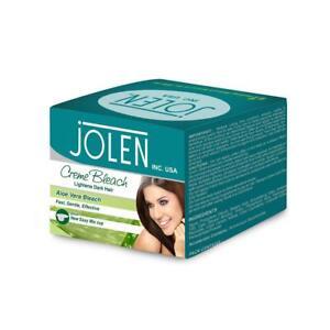 BesT of Jolen ALOE VERA Cream Bleach 4oz Lighten facial hair FAST SHIPPING