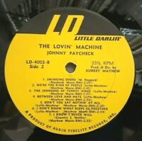 (LP ONLY) Johnny Paycheck – The Lovin' Machine (Little Darlin' – LD 4003)