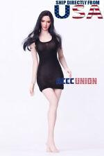PHICEN 1/6 scale Seamless Female Figure Asian Black Hair Beauty Doll Set U.S.A.