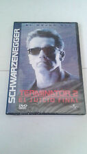 "DVD ""TERMINATOR 2 EL JUCIO FINAL"" PRECINTADA ARNOLD SCHWARZENEGGER JAMES CAMERON"