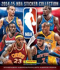 NBA Panini Album - Basketball Stickers 2014/15 Album