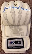 "JACOB ""STITCH"" DURAN SIGNED MMA GLOVE (UFC) LEGENDARY CUTMAN AUTHENTIC ~PROOF"