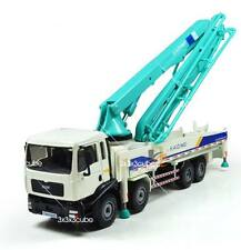 KDW Green 1/55 Concrete Pump Truck Construction Vehicle Diecast Model Car
