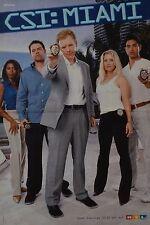 CSI MIAMI - A3 Poster (42 x 28 cm) - Cast Clippings Fan Sammlung NEU