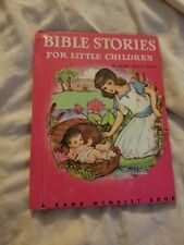 Vintage BIBLE STORIES FOR LITTLE CHILDREN - A Rand McNally Junior Elf Book