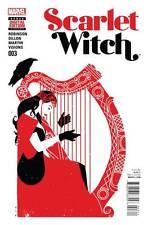 Scarlet Witch # 3 Regular Cover 2015 NM Marvel