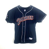 Vintage 1997 San Diego Padres Mens 2XL Russell Athletic Jersey Nublend MLB