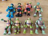 Teenage Mutant Ninja Turtles Tmnt 2012 2013 2014 Figure Lot