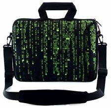 """LUXBURG 14"""" Inches Design Laptop Sleeve With Shoulder Strap & handle #ED"""