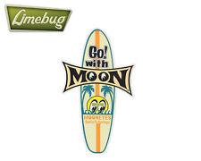 Mooneyes Vintage Surf board Surfboard Sticker Stickers Decal VW Camper Beetle