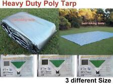 OZtrail UltraRig Silver Heavy Duty Poly Tarp Tarpaulin 12' x16' Outdoor Camping