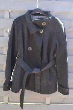 Manteau noir Cache Cache taille 4 ou 42-44 XL + écharpe offerte
