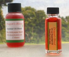 Dragon's Blood Essential Oil 1/4 Oz Wiccan Craft Pagan Altar Ritual Spell