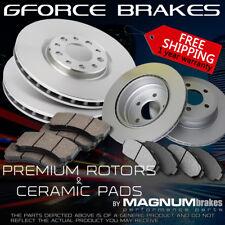 F+R Rotors & Ceramic Pads for 2010-2011 SAAB 9-5 w/F321mm R Vented Rotors 5 Lugs
