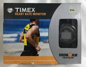 Timex Heart Rate Monitor Ironman Triathlon Timex Multifunction Personal Trainer