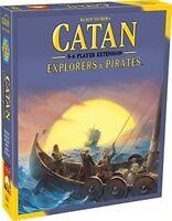 Catan Expanison: Exploreres & Pirates 5-6 Players [New Games] Board Game
