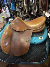 """Devoucoux Biarritz Oldara Close Contact Jump Saddle, 16.5"""" seat, Med Tree"""