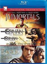 Immortals/Conan 3D/The Eagle (Blu-ray Disc, 2013, 3-Disc Set, Canadian)
