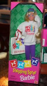 1994 Mattel Barbie Doll FAO Schwarz Shopping Spree 12749