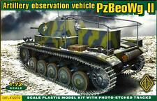 Ace Models 1/72 PzBeoWg II German WWII Artillery Observation Vehicle