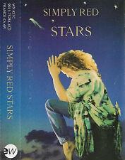 SIMPLY RED STARS CASSETTE ALBUM  Pop Rock, Ballad, Synth-pop
