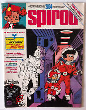 b) SPIROU n°2004 En maxi; Khéna, docteur poche, aymone, Archie Cash