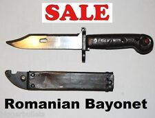 Romanian Vintage Type I Bayonet with Scabbard - Serviceable Condition