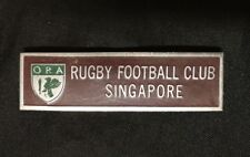 old Singapore rugby Football Club Pin Badge
