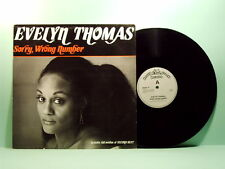 Thomas Evelyn - Sorry wrong number